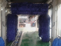 Car washing box, car wash station, tunnel type car wash machine with low price.
