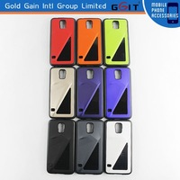 2014 New Design Gloss Paint Suface Hard TPU Back Cover For samsung S5 i9600 TPU Back Cover Case