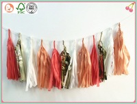 wholesale christmas paper /foil garland