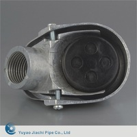 JIACHI Aluminum Clamp Service Entrance Cap / Service Entrance Heads