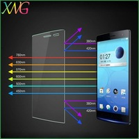 Made in China anti blue light 0.33mm 2.5d Mobile phone screen protector OPPO Find 7 tempered glass guard