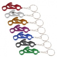 Supply Youch Mini Metal Aluminium Motorcycle Keychain Key Holder---Best Sellers