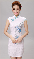Chinese ladies Traditional Career / Professional Dresses Dress Type famous qipao cheongsam party dress/evening gown
