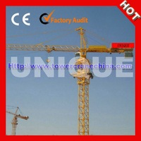 High Quality QTZ80A Self-erection Tower Crane For Sale