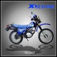 colorful racing dirt cross country motorcycles 200cc