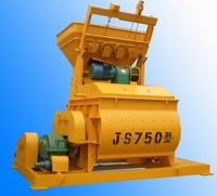 Double horizontal shafts auto ready concrete mix equipment JS1000 concrete mixer