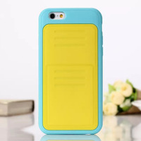 Newest rubber silicone soft gel case for iphone 6 4.7