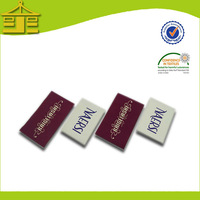 China Direct Factory Woven Dress Labels,clothing,shoes,bags