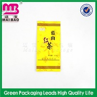 2014 new artwork custom logo diet tea packing bag