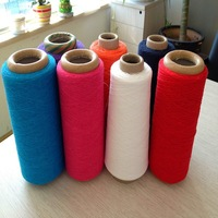 recycled tc, cvc cone yarn for knitting machine