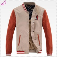 OEM cheap designer brand name men's autumn jacket