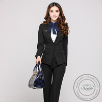 anti-shrink china wholesale 100% cotton 2013 women formal suit
