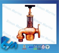MARINE Bronze FUEL OIL TANK SELF CLOSING DRAIN VALVES