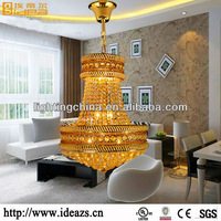 jigsaw lustre decoration LED crystal hanging lamp