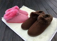 Wholesale Autumn And Winter Warm Men Women Cotton-padded Lovers At Home Slippers Indoor Shoes Size 36-44