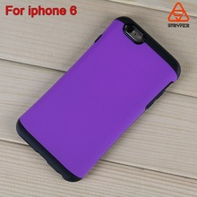 With retail packaging mobile phone case for iphone 6 protective combo cover