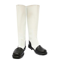Cosplay Boots Inspired by Hetalia Hongkong White and Black