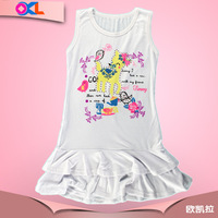 Zhejiang famous brand highly popular new design kids dress