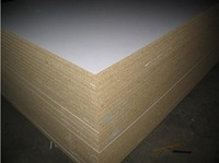 hot sale 12mm chipboard with melamine face for decoration
