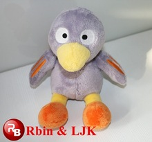talking plush bird stuffed animals