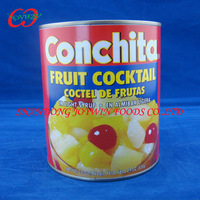 New crop Fruit cocktail in syrup in Tinned