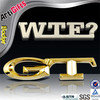 Free samples gold metal letters for car emblem