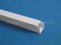 Decorative pvc cable wire raceway plastic protection cover
