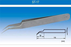 ESD Tweezers For Electronic Industry / ST-17