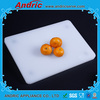 New design non slip feet plastic chopping board 6 colors wiht hig quality