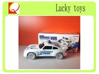 HOT SELLING 2014 B/O POLICE CAR TOY, PLASTIC TOYS CAR police car toy with lights and music, plastic toy police car