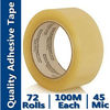 Clear Sealant Tape (BOPP Film and Water-Base Acrylic)