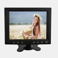 8 inch touch screen usb monitor for kiosk, ATM, gaming, industrial autmation, LED backlight with ultra low power consumption
