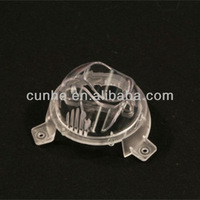 Custom clear PC plastic part moulding