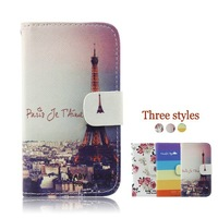 Flip Leather Case Back Cover Case For Samsung Galaxy Note II 2 Note2 N7100 7100
