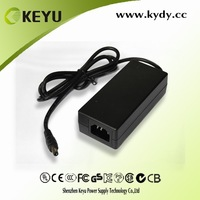 65w desk type series 12V 5A Power Adapter for LED, CCTV Camera with ce certificate
