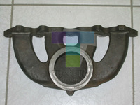 Top Quality Ductile Iron & Grey/Pig Iron Casting Exhaust Bitumen Coat Manifold