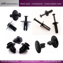 China supplier custom different sizes of high accuracy and factory price auto plastic rivet
