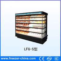 Made in China high quality super jumbo erect freezer used in retail shop