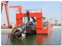 Hydraulic cutter suction dredging equipment for sand dredging from sea/river