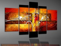 handmade pictures of abstract oil painting frame Stretched Canvas Painting