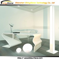 Unimaginable thermoforming design solid surface/artificial marble futuristic furniture