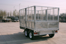small towing trailers for cars / car enclosed trailer with cargo trailer axles