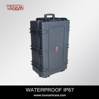 Tsunami No.764830 large Watertight protectitive equipment case hard plastic military case
