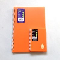 2015 top plastic cover craft paper executive hot sale fancy cheap notebook