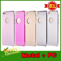 Merry Christmas!!!2 in 1 aluminum metal mobile phone case cover for iphone 6