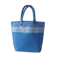 Supplier Women Wholesale Printed Canvas Shopping Bag Tote Bags