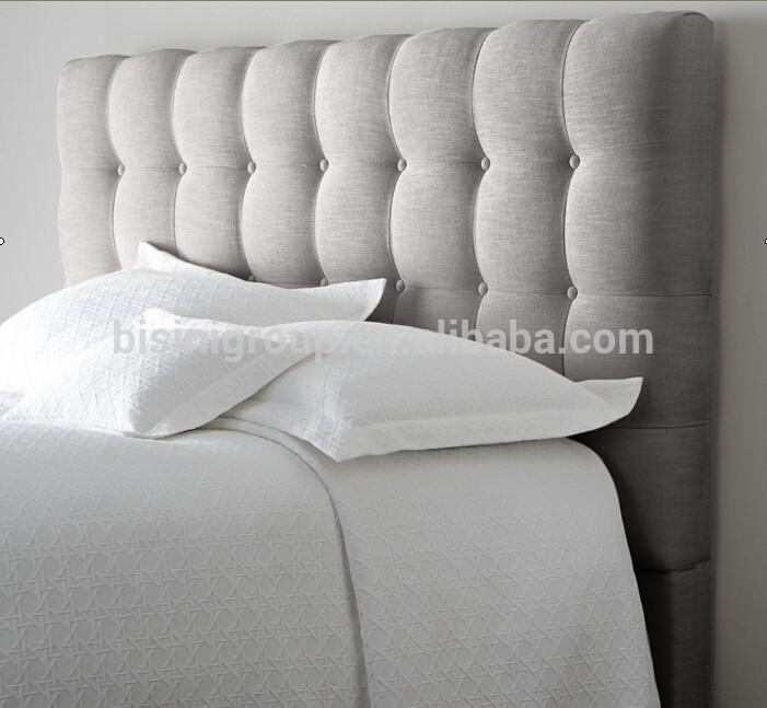 Style am ricain reine kings couronne pour enfants t te de lit lit gris tis - Tete de lit tissu gris ...