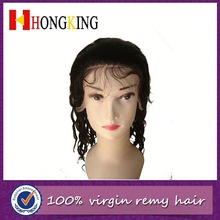 Brazilian Virgin Hair Lace Front Wig For Black People Made In China