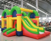inflatable combo bounce house factory supply outdoor game equipment