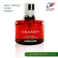 Grandy car air freshener car bottle perfume aroma scents